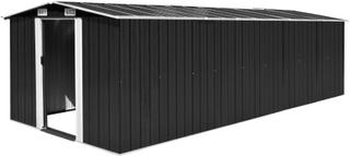 vidaXL haveskur 257 x 597 x 178 cm metal antracitgrå