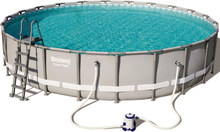 Ovanmarkpool 6,7m diameter - Bestway Power Steel (56705)