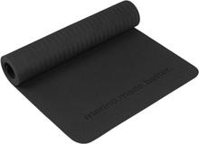 Super.natural Yoga Mat träningsredskap Sort OneSize