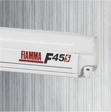 Fiamma F45 S markise, royal grey, hvit boks, L 4,5 m