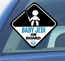 Aufkleber Baby Jedi on Board