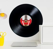 Persönliche Schallplatten Aufkleber