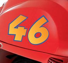 Motorbike Nummer Stickers