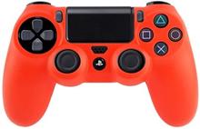 Silikone Beskyttelse til PS4 (Rød)