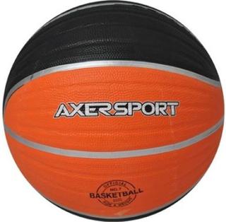 Axer Pilka do koszykówki pomaranczowo-czarna 7