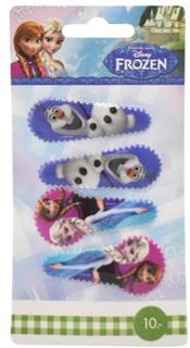 Disney Frozen Hårspænder 4 stk