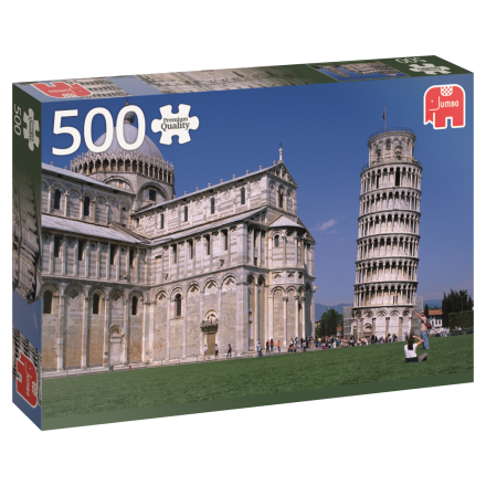 Tower of Pisa, Italy 500 palaa