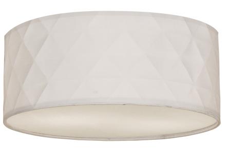 Bendir-kangasplafondi, valkoinen, kuvio