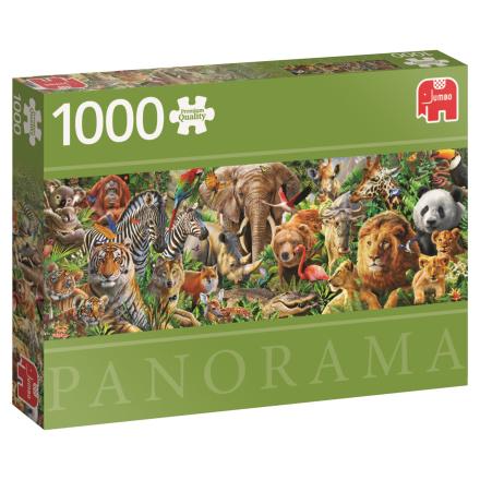 African Wildlife 1000 palaa panorama