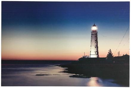 LED-Canvastaulu, lighthouse
