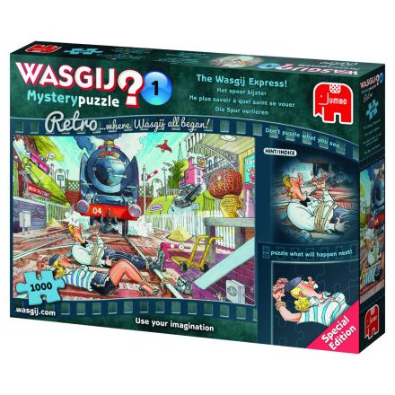 WASGIJ Retro Mystery 1,The Wasgij Express- 1000 palaa