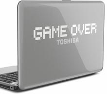 Game over Laptop Aufkleber
