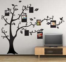 Muursticker fotokaders in een boom
