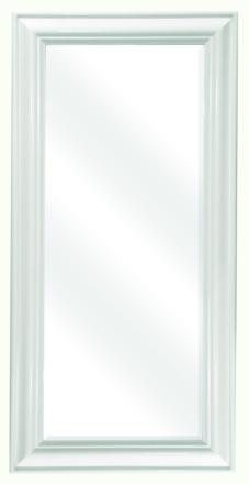 Peili 47x97cm moderni valkoinen D1034