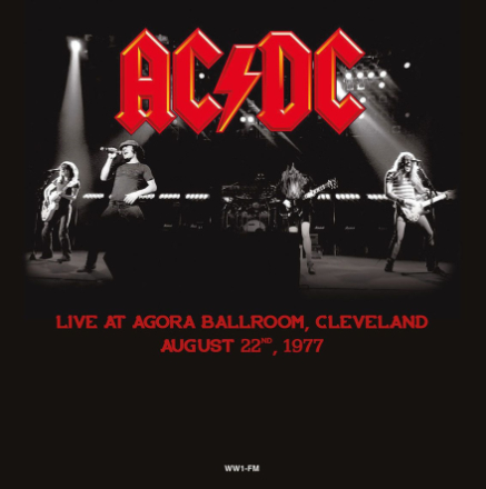 AC/DC - Live in Cleveland August 22, 1977 - Vinyl