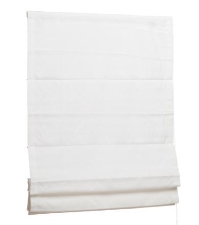 Klaudia-laskosverho, valkoinen