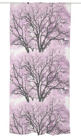 Populus-verho, pink