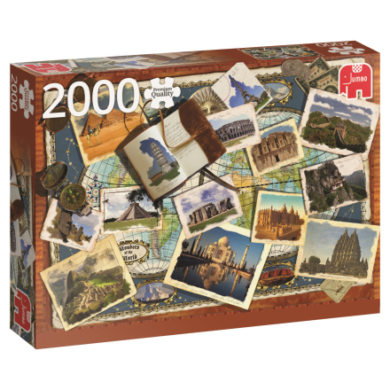 Wonders of the World - 2000 pcs