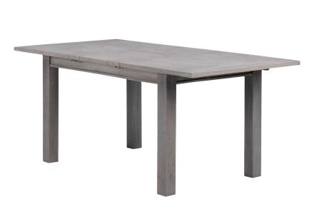 Furu-jatkettava ruokapöytä 140+40 x 90, harmaa