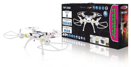 Jamara Kauko-ohjattava kopteri R/C Drone Payload Altitude 4+4 Channel RTF