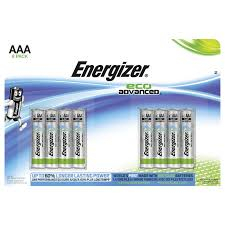 Energizer Eco Advanced 8st AAA batterier