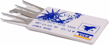 Lockpicking Set im Kreditkartenformat