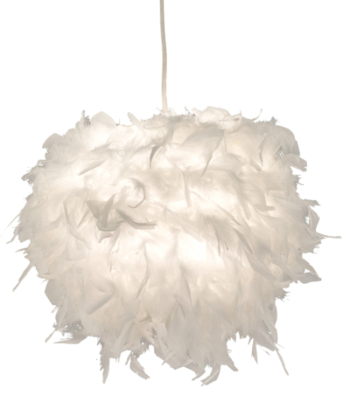 Boa-kattovalaisin, valkoinen