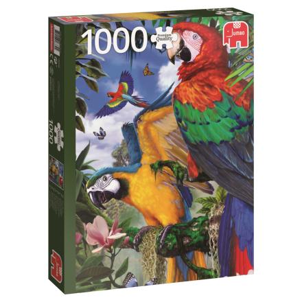 Pretty Parrots 1000 palaa