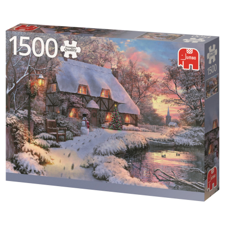 Winter Cottage 1500 palaa