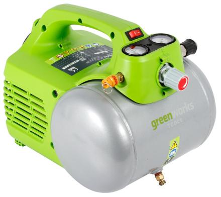Paineilma kompressori 6L