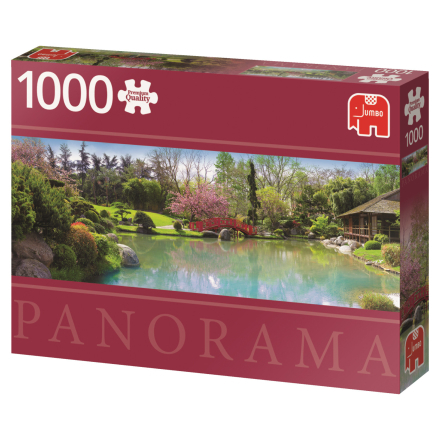 Colourful garden 1000 palaa panorama