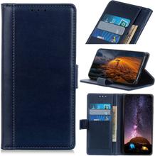 Huawei Y6 2019 simple leather case - Dark Blue
