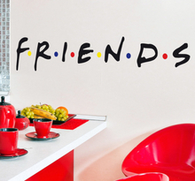 Friends Logo Aufkleber