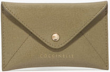 Saffiano leather credit card holder, ONE SIZE