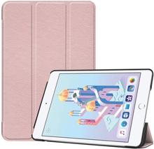 iPad Mini (2019) tri-fold leather case - Pink