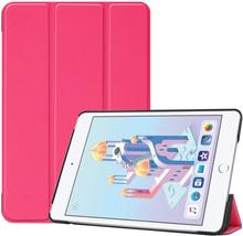 iPad Mini (2019) tri-fold leather case - Rose