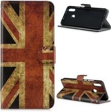 Huawei P Smart 2019 pattern leather case - Retro UK Flag