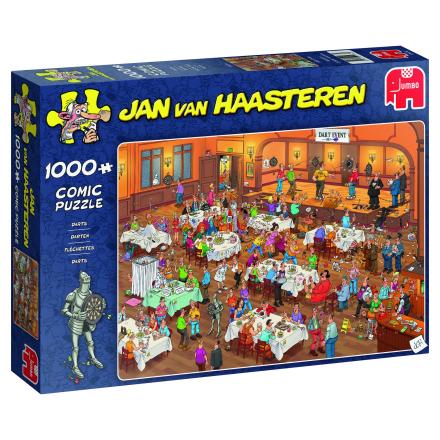 Jan van Haasteren, Darts 1000 palaa