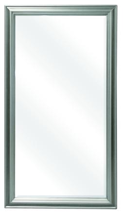 Peili 72x133cm moderni hopea D1034