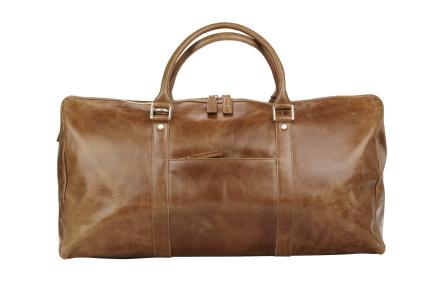 Kastrup 2 Weekender bag - Dark tan