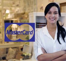 Aufkleber Mastercard