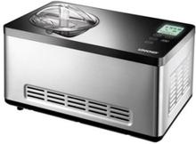 Unold 48845 Eismaschine Gusto mit digitalem Timer, 2l, Edelstahl/schwarz