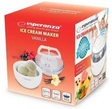ESPERANZA ice cream maker VANILLA white