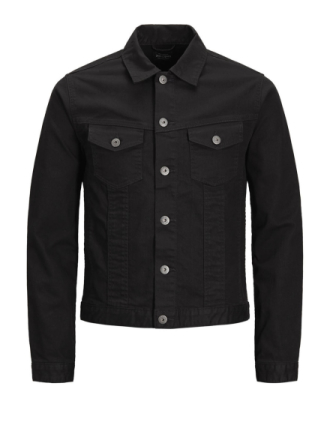 JACK & JONES Earl Jacket Cr 009 Denim Jacket Men Black