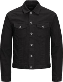 JACK & JONES Earl Jacket Cr 009 Denim Jacket Man Svart