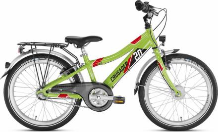 """Puky Crusader 20-3 Lapset lasten polkupyörä Alu , vihreä/musta 20"""" 2019 Lasten kulkuneuvot"""