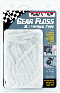 Finish Line Gear Floss microfiber rope cleaning threads 2019 Rengjøring