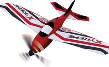 RC Modellflyg nybörjare Günther Flugspiele Xtreme 215 mm