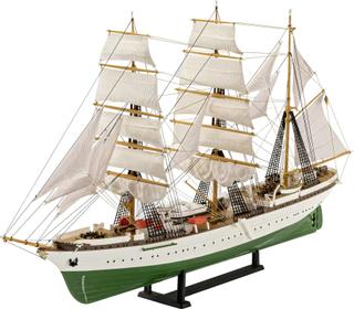 Fartygsmodell byggsats Revell GORCH FOCK - 60th Anniversary 05695 1:253