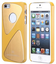 Metalic S-Line iPhone 5 skal (gul)